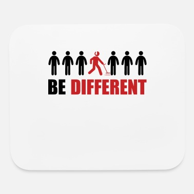 Goldfish Gold Detecting - Be Different T-Shirt Gift Idea - Mouse Pad