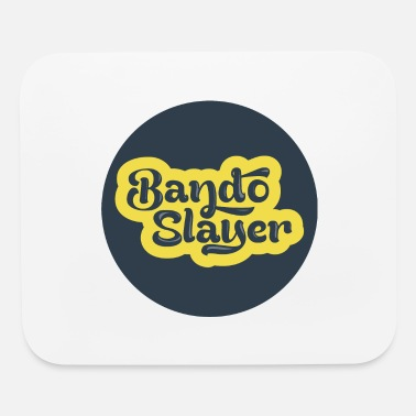 Le Drib BandoSlayer logo in a dot - great for drone pilots - Mouse Pad