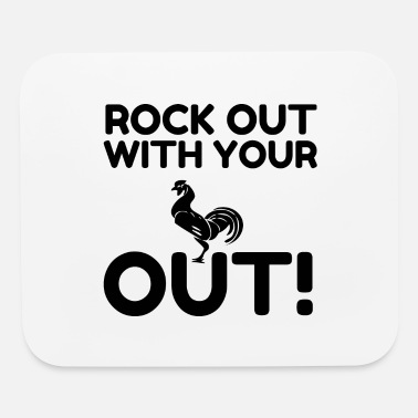 Outlaw Rock Out - Mouse Pad