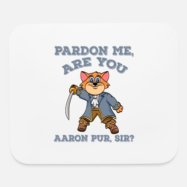 Animal Lover Cat Shirt For Animal Lovers Pardon Me, Are You - Mouse Pad