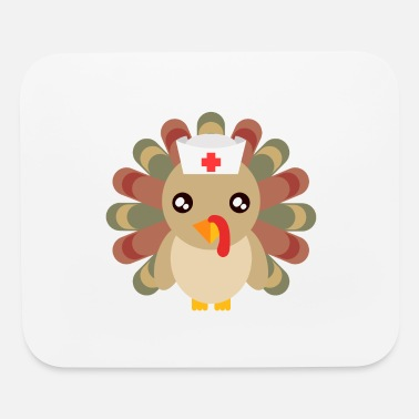 Cheese Nurse Hospital Doctor Happy Turkey Day - Mouse Pad