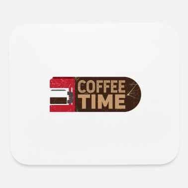 I Love Coffee Coffee Time Coffee Lover Gift Idea - Mouse Pad