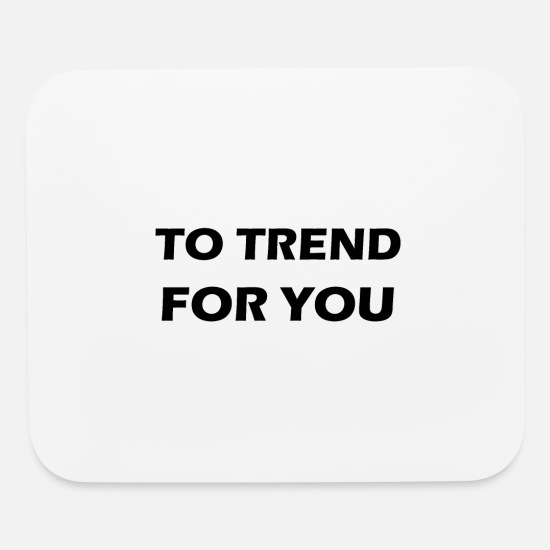 Dance Mouse Pads - too trend for you - Mouse Pad white