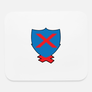 Motion x cross design - Mouse Pad