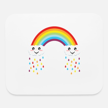 Ego Colorful Rainbow Flag Gay Pride Tshirt Design  - Mouse Pad