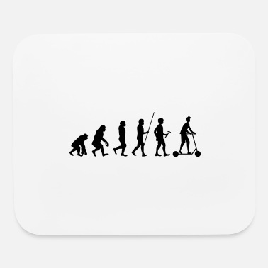 Scooter Scooter scooter electric scooter evolution gift - Mouse Pad