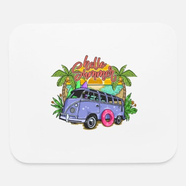 Vacation summer - Mouse Pad