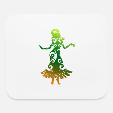 Hula Dancer Hawaii Hula Dancer Polynesian Tribal Tattoo Gift - Mouse Pad