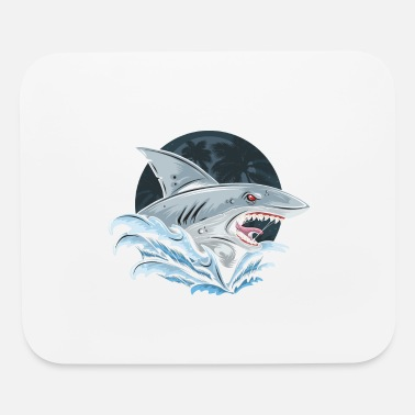 Animals Shark - Mouse Pad