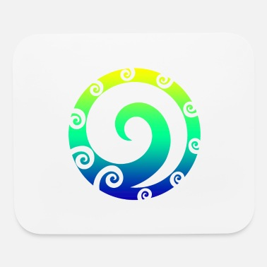 Mythology Maori Koru Art Polynesian Tribal Tattoo Gift Idea - Mouse Pad