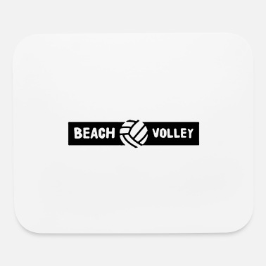 Volley beach volley - Mouse Pad