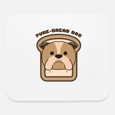 Purebred Dog PureBread Purebred Dog Pun Funny Dog Owner and - Mouse Pad