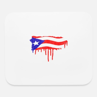 Puerto Rico Paint Drip - Mouse Pad