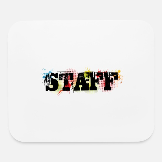 Labor Mouse Pads - Staff - Mouse Pad white