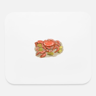 Cajun Cajun Seafood Watercolor - Mouse Pad