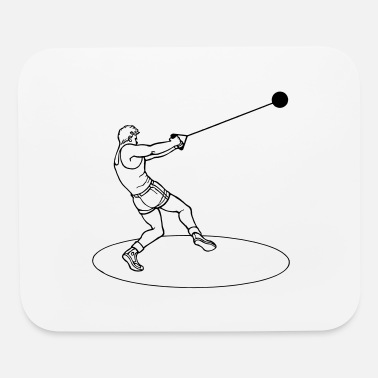 Playing Hammer thrower 2 - Mouse Pad