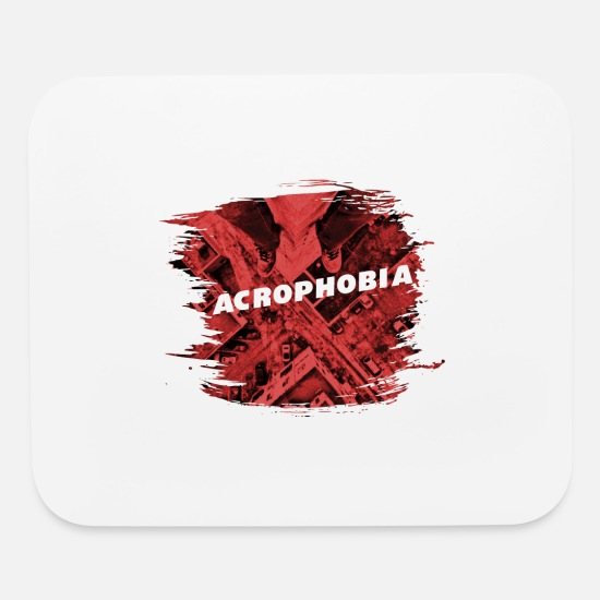 Gift Idea Mouse Pads - Acrophobia Roofing - Mouse Pad white