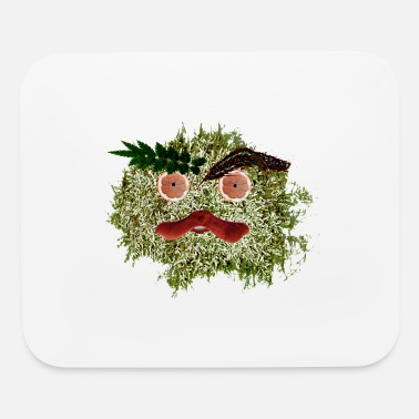 Gobelin Cute Leaf monster - Mouse Pad
