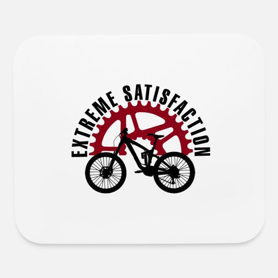 Gift Idea Mouse Pads - BMX Extreme Satisfaction Biker Cycle - Mouse Pad white