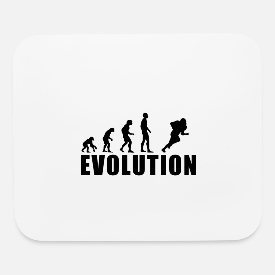 American Football Mouse Pads - EVOLUTION AMERICAN FOOTBALL - Mouse Pad white