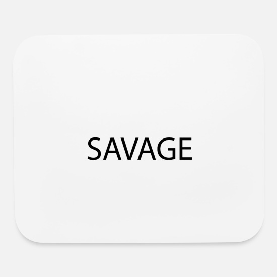 Kids Mouse Pads - SAVAGE Cool Youth Kids Culture Language Teacher - Mouse Pad white