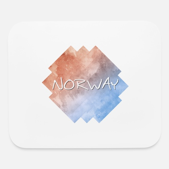 Norway Mouse Pads - Norway - Mouse Pad white