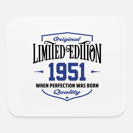 Legend Mouse Pads - Limited Edition 1951 - Mouse Pad white