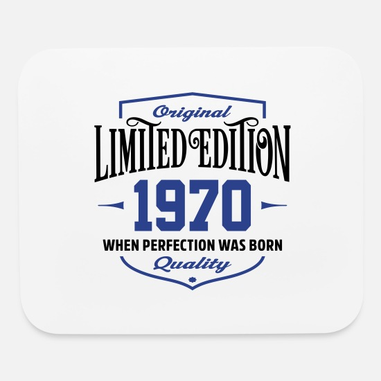 Legend Mouse Pads - Limited Edition 1970 - Mouse Pad white