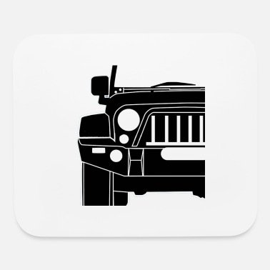 Car Sticker sticker - Mouse Pad