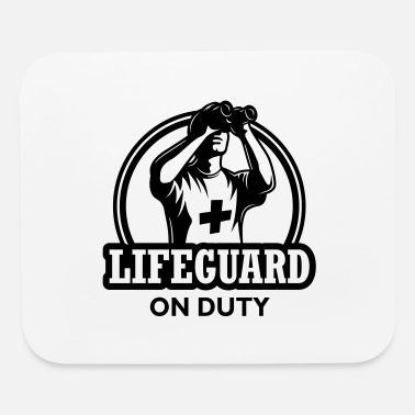 Duty Lifeguard on duty - Mouse Pad
