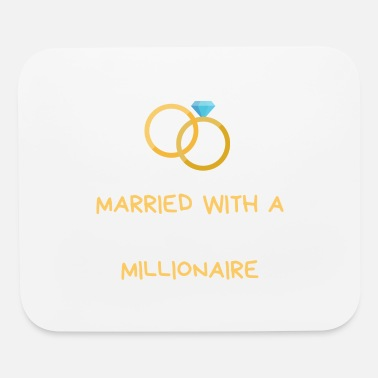 Wall Street married with a future millionaire by financefreeks - Mouse Pad