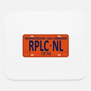 License Plate Republic of Newfoundland License Plate - Mouse Pad