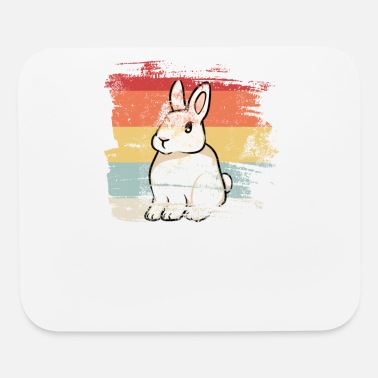 Carrot Rabbit Retro - Mouse Pad