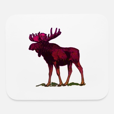 Moose Abstract Moose Design - Mouse Pad