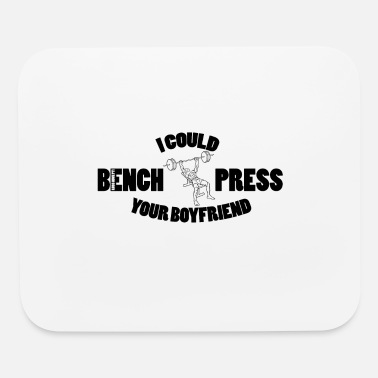 Power Press Bench Press - Mouse Pad