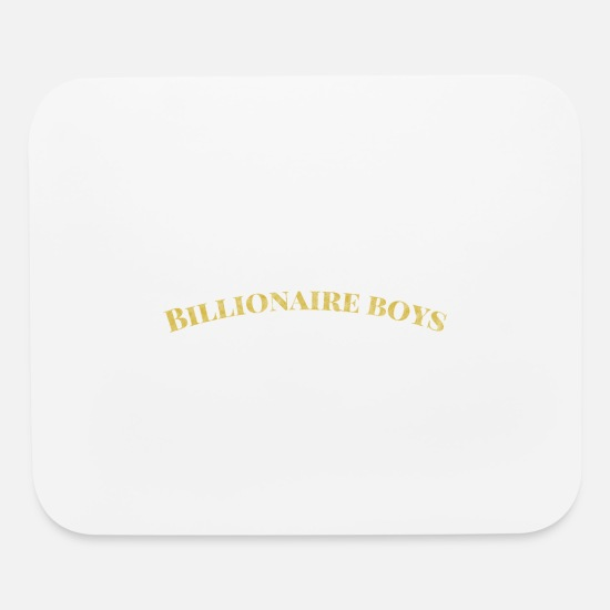 Startup Mouse Pads - Billionaire Boys - Mouse Pad white