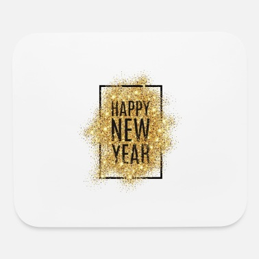 Funky Christmas And New Year Design - Mouse Pad