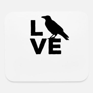 Ravens I Love Crows Ravens & clever Birds - Mouse Pad