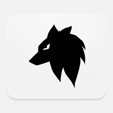 Manga Manga Anime Wolf Dog - Mouse Pad