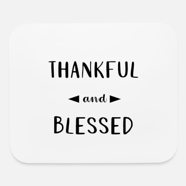 Catholic Thankful and Blessed Thanksgiving - Mouse Pad