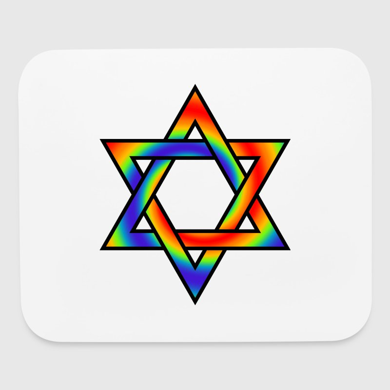 Rainbow Gradient Star Of David Symbol By Dimkadnb Spreadshirt