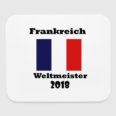 Frankreich Weltmeister 2018 - Mouse pad Horizontal
