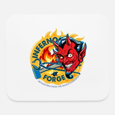 Inferno Blacksmith Inferno Forge - Mouse Pad