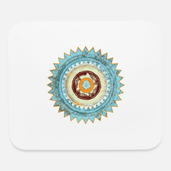 Love Mouse Pads - Spirit of Ibiza - Mouse Pad white