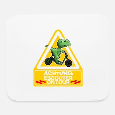 Achtung Achtung Escooter on Tour - Mouse Pad