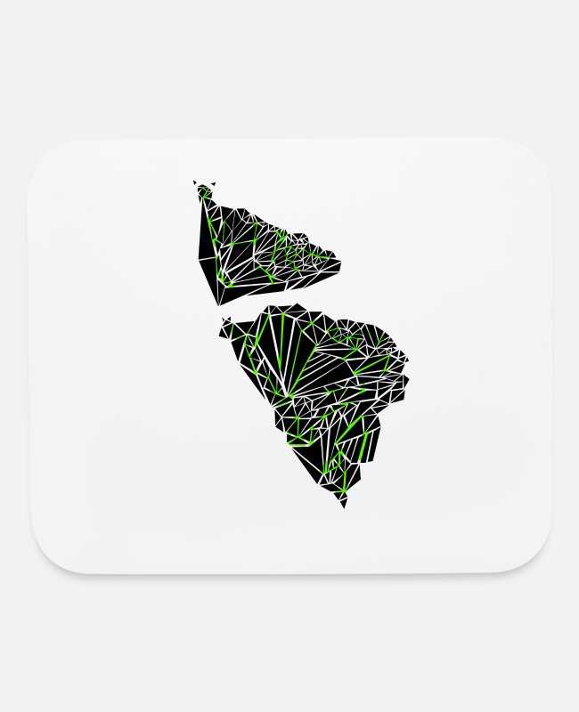 Graphic Art Mouse Pads - TRY BUTTERFLY ANGLE - Mouse Pad white