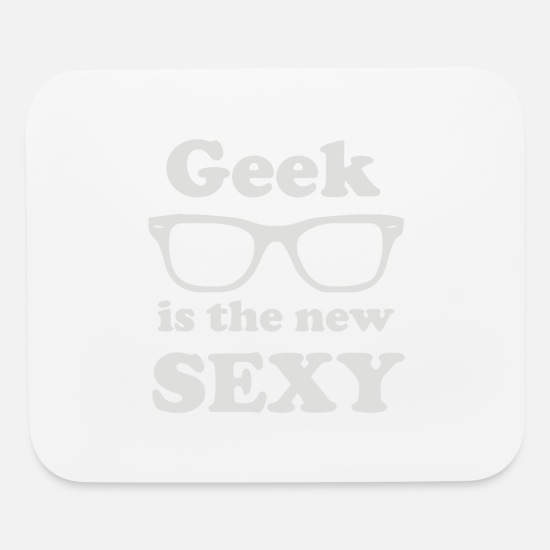 Geek Mousepads  - Geek - Mouse Pad white