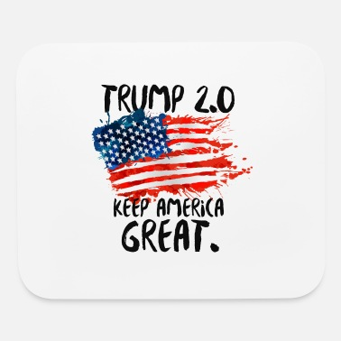 Pro Pro Trump 2020 - Trump 2.0 KEEP AMERICA GREAT! - Mouse Pad