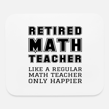 Pi Retired Math Teacher Retirement Like A Happier - Mouse Pad