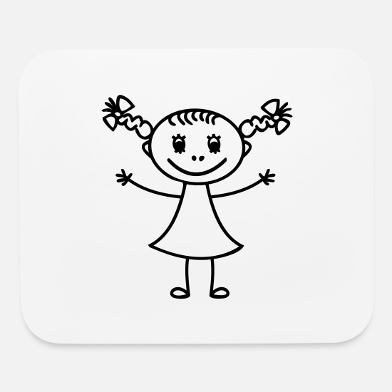 Children's Day Mouse Pads - children, children's birthday party. children's da - Mouse Pad white